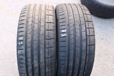 PAIR OF PIRELLI P-ZERO 225/35/ZR19 88Y TYRES MCLAREN PNCS MC 6.7mm & 6mm