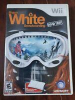 Shaun White Snowboarding Road Trip Nintendo Wii Complete Game