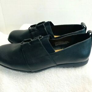 Comfort View Womens Loafer Faux Leather Comfort Sole round toe 9WW NEW