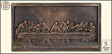 Kunstguss Döhler Relief Das letzte Abendmahl Geburtstagsgeschenk Konfirmation