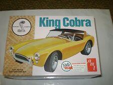 Shelby Cobra King Cobra, AMT 793/12, 1/25 scale model car kit NEW NIB