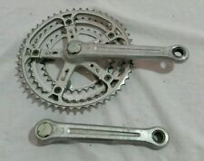 Square Taper ISO Bicycle Cranksets with Triple Chainrings