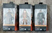 Star Wars Black Series The Mandalorian Greef Carga Kuiil Moff Gideon Sealed C9+