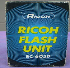 Ricoh Flash Unit BC-605D in box, w papers                  (Loc Lkr 6 packed)