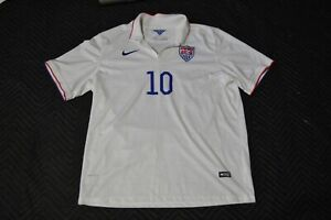 Nike Dri Fit USA Mens 2014 National Soccer Team Mix Diskerud Jersey Shirt XXL