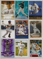 2005-2012 Carlos Beltran Mixed Lot 9 Different Cards New York Mets Cardinals