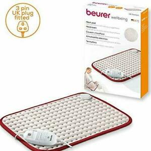 Beurer HK Comfort Heat Pad   Electric Heat Pad for Pain Relief and Relaxation  