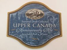 Cool Beer Coaster ~*~ Sleeman Brewing & Malting Co. Upper Canada Anniversary Ale