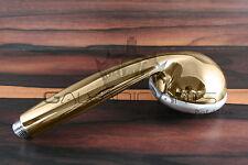 Armatur Gold 24 Karat Handbrause Duschkopf Brausekopf Stabbrause Bad Edel Dusche