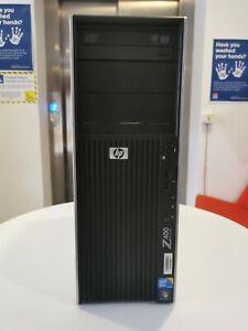 HP Z400 Workstation Intel Xeon W3680 @3.33GHz 12GB RAM 160GB SSD Win 10