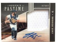 2020 Panini America's Pastime JAKE ROGERS Autograph RPA Jersey Relic SP /99