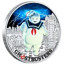 2017 Perth Mint Tuvalu GHOSTBUSTERS Stay Puft 1 oz SIlver Proof $1 Coin
