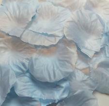1000 x Blue Silk ROSE PETALS -  Wedding Confetti