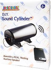 Elenco Jr. Scientist DIY Sound Cylinder Kit Assemble Real Working Speaker