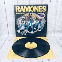 Ramones Road to Run SRK 6063 LP 1978 Sire USA EX shrink wrap lyric sleeve