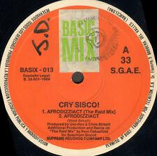 CRY SISCO - Afro Dizzi Act - Supreme