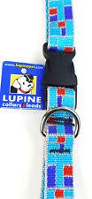"Lupine 3/4' Dog Collar Adjustable 15-25""  ""CITY LIGHTS"""