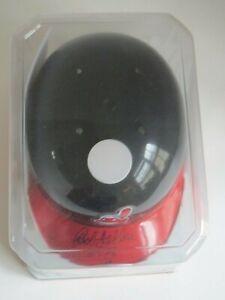 Bob Feller Autographed Cleveland Indian Mini Helmet