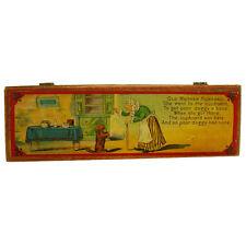 Old Mother Hubbard Children's Pencil Box - Near Mint