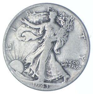 1943-D Walking Liberty 90% Silver US Half Dollar *820