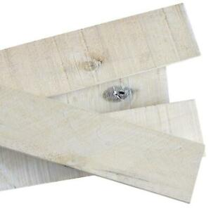 Weaber White Wash Weathered Hardwood Board 8 Piece Wood Appearance Authentic