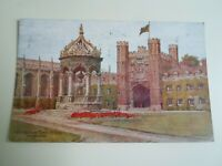 A R QUINTON Postcard *1557 The Great Court, Trinity College, Cambridge §E565