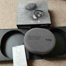 AKG Headphones N700NC Wireless Bluetooth Noise Cancelling - Silver - (VATINC)