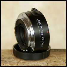 Canon EOS DIGITAL fit Jessops 2x DG2 Convertor SLR EF Lenses FREE UK POST