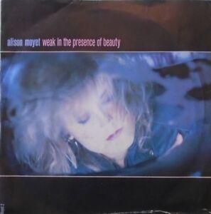 """ALISON MOYET - Weak In The Presence Of Beauty ~ 7"""" Single PS"""