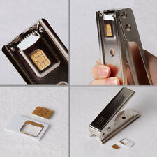 Standard Micro Nano Sim To Card 5 5G 5S 5C 5th  Phone Cutter+2 Adapter mobile