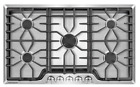 """Frigidaire Gallery 36"""" Stainless Steel 5 Burner Gas Cooktop - Model: FGGC3645QS photo"""