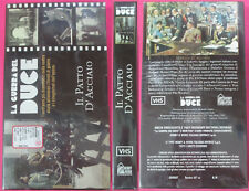 VHS film LA GUERRA DEL DUCE il patto d'acciaio HOBBY & WORK sealed (F182) no dvd