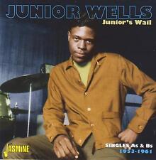 Junior Wells-Junior's Wail-Singles As & Bs-1953-1961-CD-2014 Jasmine UK issue