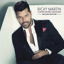 RICKY MARTIN A QUIEN QUIERA ESCUCHAR Deluxe Edition 3 Extra Tracks CD NEW