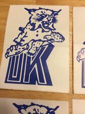 Vintage University Of Kentucky Wildcats Decal Sticker