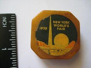 Vintage Old Bakelite Pencil Sharpener, 1939 New York World's Fair