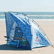 Tommy Bahama 9ft Wide Portable Sun Shelter/Tent/Beach Umbrella Carry Case Window