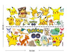 Large Size- Pokémon - Nursery Boys/Girls/ Kids Room Wall Stickers Home Decor