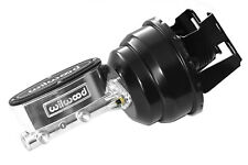 "64-72 Chevy Chevelle Wilwood Master Cylinder Black 8"" Power Brake Booster"