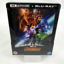 Avengers Infinity War 4K Ultra HD Lenticular Steelbook Exclusive Zavvi
