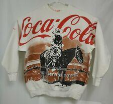 Vintage Coca-Cola Sweatshirt Full Graphic on Front & Back 'An American Original'