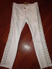 Pantalon cuir écru Isabel Marant H&M, T42