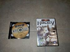 heroes of the might and magic V 5, IV 4 PC