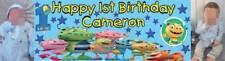Henry Hugglemonster Themed Birthday Banner Bespoke to your needs - just ask??