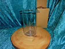 GENUINE PYREX ELIA CAFETIERE GLASS LINER REPLACEMENT 8 CUP 1L -  18 X 10CM