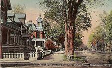 Main Street Looking West From Walnut Street in Binghamton NY Postcard 1911
