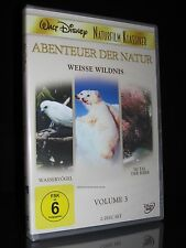 DVD WALT DISNEY - ABENTEUER DER NATUR - VOLUME 3 - NATURFILM KLASSIKER ** NEU **