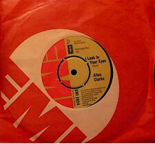 ++ALLAN CLARKE i look in your eyes/who ? SP 1973 EMI RARE VG++