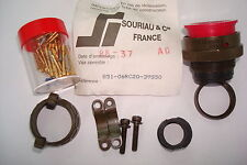 SOURIAU CONNECTOR  PLUG 39POS STRAIGHT W/SCKT - 851-06RC20-39S50  LOT OF 1
