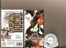 KING OF FIGHTERS COLLECTION OROCHI SAGA PSP RARE 5 GAME